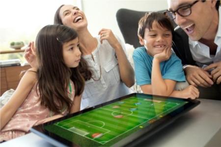 Sony Vaio Tap 20 juegos en familia