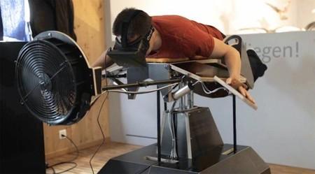 Birdly: cómo volar sin volar de la mano de Oculus Rift