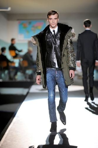 Dsquared2 Otoño-Invierno 2012/2013 en la Semana de la Moda de Milán