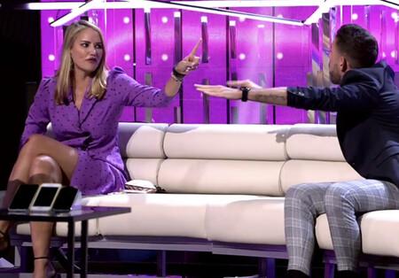 """Duro enfrentamiento entre Alba Carrillo y el novio de Miguel Frigenti en 'Secret Story': """"Sois unos homófobos y unos tránsfobos"""""""