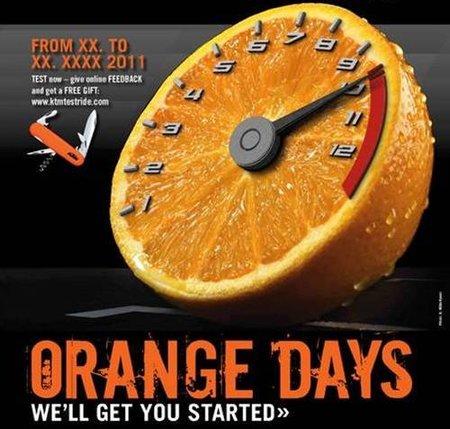 Orange Days 2011 el 6 y 7 de mayo en tu concesionario