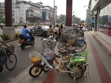 China se pone farruca con las bicicletas eléctricas