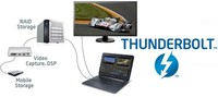 Thunderbolt 2 nos trae vídeo a 4K y transmisión simultánea de datos