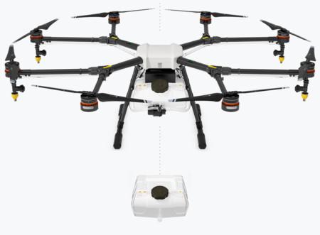 El dron agricultor es una realidad gracias a DJI