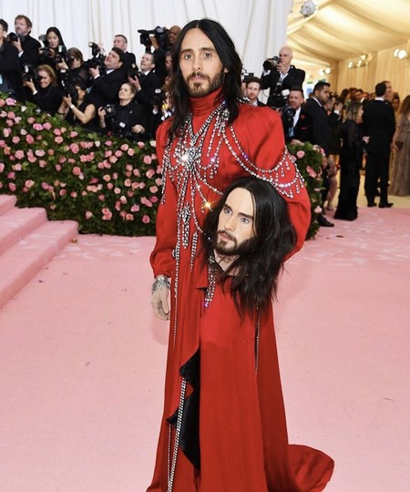Jared Leto Alfombra Roja Red Carpet Met Gala 2019 03