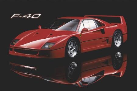 Póster Ferrari F40