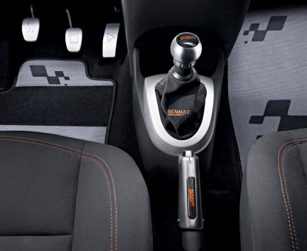 interior Renault Twingo RS