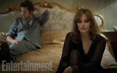 Angelina Jolie y Brad Pitt ante la crisis de su matrimonio en 'By The Sea', primeras imágenes