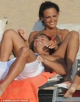 Cristiano Ronaldo y Nereida Gallardo, tórridas escenas bajo el sol