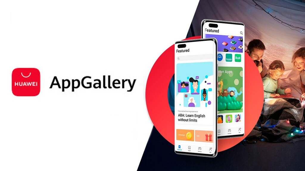 Huawei actualiza su tienda de apps AppGallery con mejores destacados, nuevo menú y más