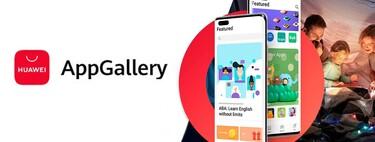 Huawei actualiza su tienda de aplicaciones AppGallery con mejores destacados, nuevo menú y más