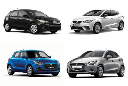 Mazda2 Vs Swift Vs Ibiza Vs Rio 2