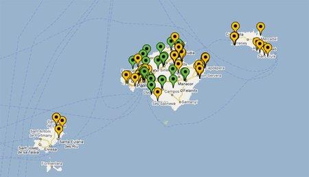 mapa wifi de Baleares