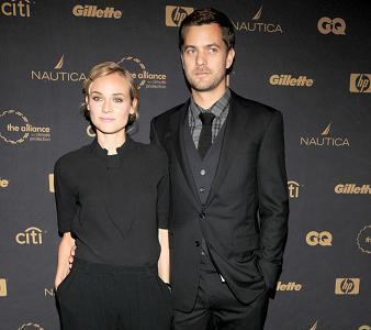 Diane Kruger y Joshua Jackson, una pareja perfectamente conjuntada