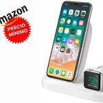 Chollazo: cargar tu iPhone y tu Apple Watch cada noche sale baratísimo con la Belkin Boost Up a su precio más bajo en Amazon, por unos 67 euros de risa