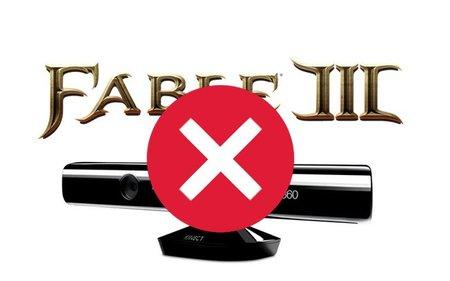 'Fable III', ahora resulta que no soportará Kinect en su lanzamiento