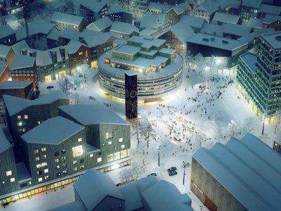 Así está moviendo Suecia una ciudad tres kilómetros más allá de su actual posición