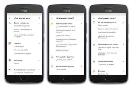 Google Assistant Comandos 02