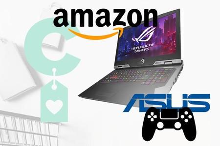 9 equipos gaming de ASUS rebajados en Amazon para jugar además de trabajar el próximo curso