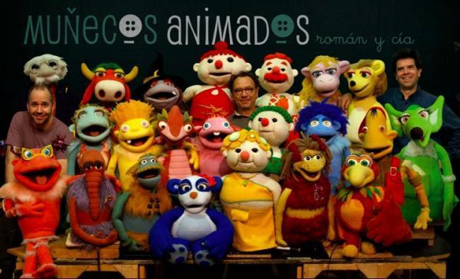 Exposición muñecos animados