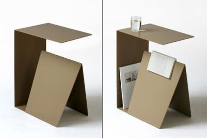 Mesita de noche de diseño minimalista