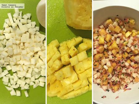 Ceviche Jicama Y Pina 2