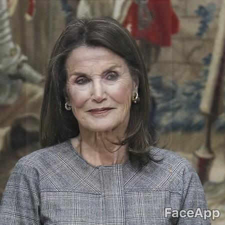 Faceapp Doña Letizia