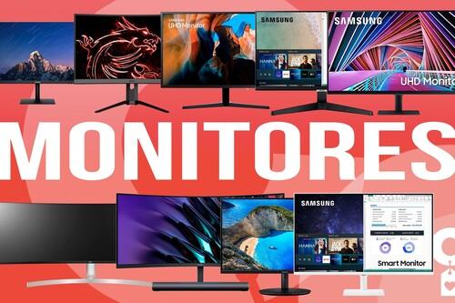 9 ofertones de Amazon en monitores para PC de Huawei, LG, MSI y Samsung