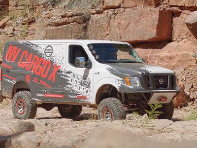 Nissan planea llevar carga a los sitios más recónditos con la NV Cargo X