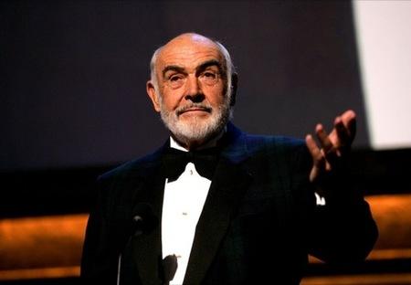 Barba o sin barba, para asistir a una fiesta esta Navidad, Sean Connery