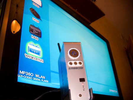 Freecom Mediaplayer WiFi, disco duro multimedia, lo hemos probado