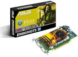 Asus EN8600GTS, con los nuevos procesadores de Nvidia