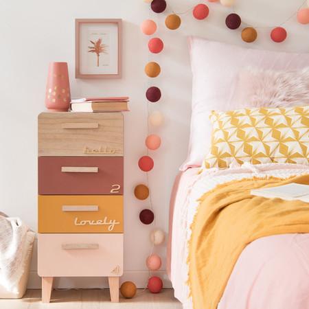 Pequeno Mueble De Almacenaje 4 Cajones Multicolor 500 2 24 171855 4maisonsdumonde