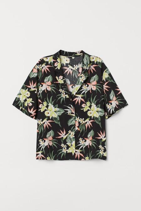 Ropa Con Estampado De Flores De Hibisco Hawaianas