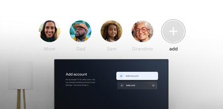 Google TV añadirá soporte para varias cuentas: Se acabaron las recomendaciones para un solo usuario