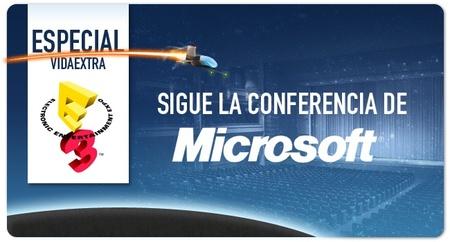 Sigue con nosotros la conferencia de Microsoft en directo [E3 2012]