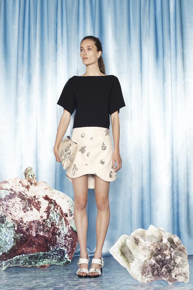 Colección Bimba y Lola Primavera-Verano 2014 Iekeliene Stange tendencia bicolor blanco y negro