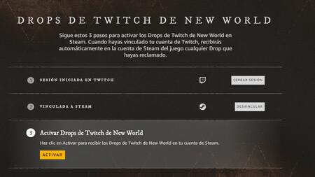 Drops Twitch New World