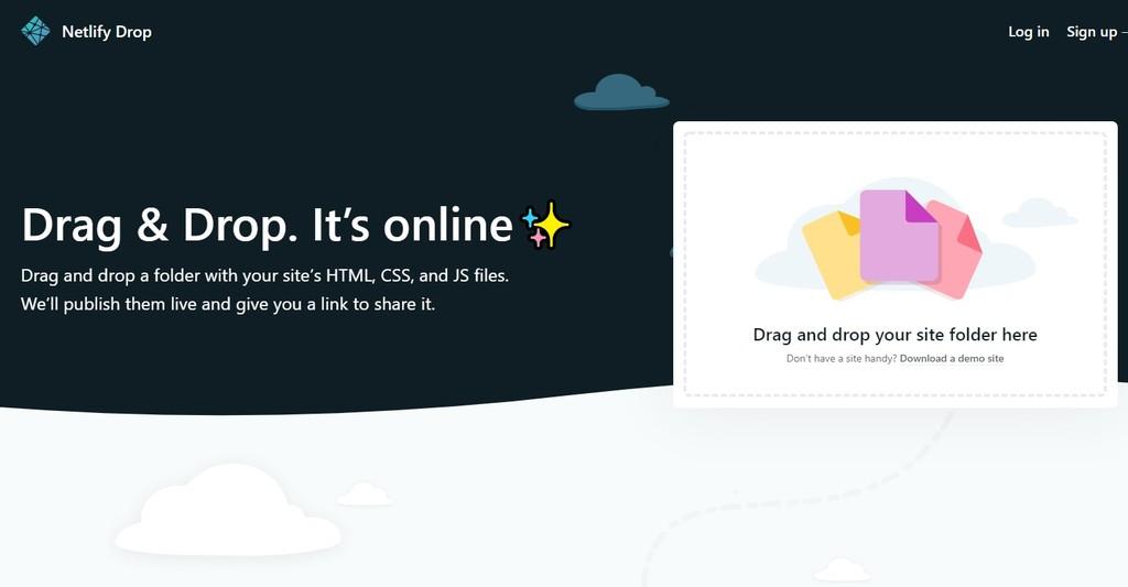 Netlify Drop, cuando publicar gratis un sitio web es sólo arrastrar, soltar y esperar unos segundos