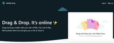 Netlify Drop, quando si pubblica un sito Web gratuitamente è sufficiente trascinare e rilasciare e attendere qualche secondo