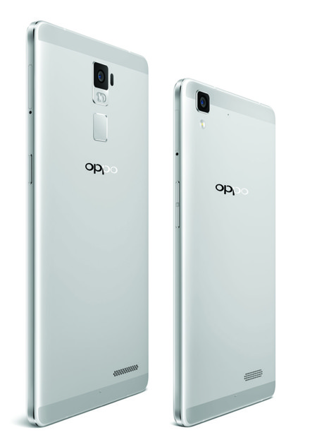 Oppo R7 And Plus Back