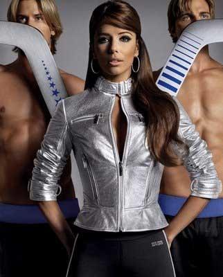 Eva Longoria para la campaña de Bebe Sport Otoño-Invierno 2007/08