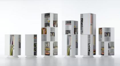 Más ideas para colocar libros