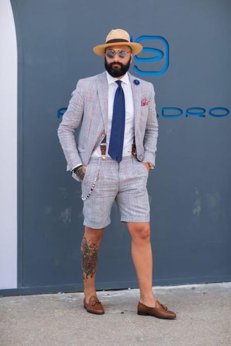 El Mejor Street Style De La Semana Combo Blazer Shors Bermudas Trendencias Hombre 05