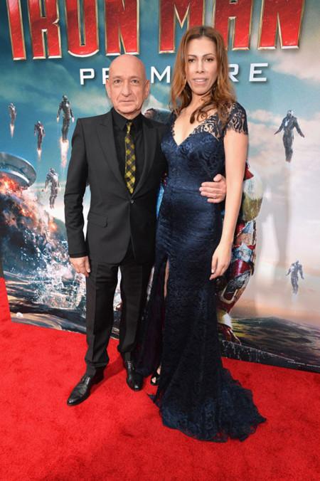 Ben Kingsley y su mujer, Daniela Lavender