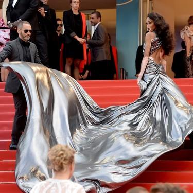 Las estrellas de Solo: una historia de Star Wars brillan en la alfombra roja de Cannes