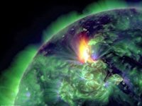 La mayor tormenta solar desde 2005 se aproxima a la Tierra.