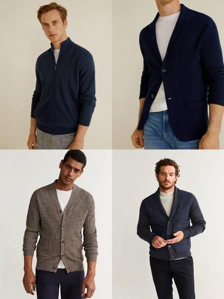 Cardigans Hombre Jerseys Trendencias Tendencia Hombre Fall Winter 2019 Otono Invierno