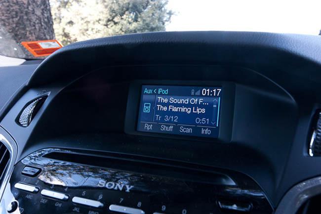 iPod conectado a SYNC