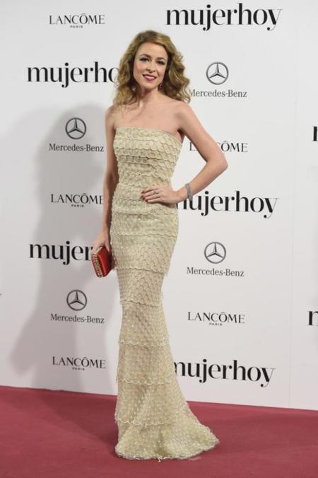 Silvia Abascal en los Premios Mujer Hoy 2014
